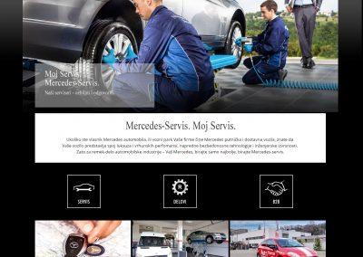 Mercedes servis